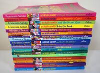 Horrid Henry Book Bundle - Francesca Simon - 10 Books - 19 Stories
