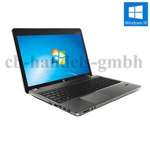 "HP PROBOOK 4530s 15.6 "" INTEL CORE I3-2310 2.10 GHZ 4GB RAM 320GB CAM HDMI WIN10"
