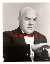 Vintage Burton Churchill CHARACTER ACTOR 38 DANGER ON THE AIR Publicity Portrait
