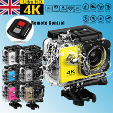 SJ9000 4K 1080P  2'' Sport Action Camera WiFi Waterproof MOTOR BIKE W/ Remote UK