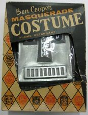 Ben Cooper _RARE ORIGINAL_ 1950's Clangy Robot Halloween Costume w/Box VTG Mask