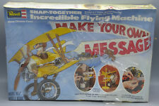 Revell Snap-Together Incredible Flying Machine Model Kit Make Your Own Message