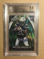 2015 MELVIN GORDON PANINI NATIONAL CONVENTION VIP PARTY GREEN WAVE /5 BGS 9.5