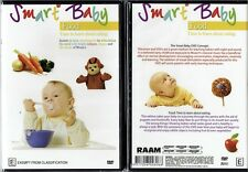 Smart Baby - Food NEW DVD child education learn early learning eating