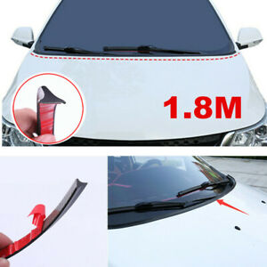 1.8M Under Wiper Front Windshield Panel Cover Molding Seal Trim Rubber Strip