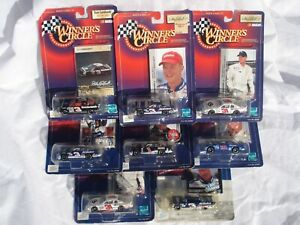 NASCAR / LOT OF 8 / Winner's Circle Collectible DIE CAST CARS / NEW IN PACKAGE!