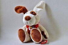 Sigikid Hund Fuffi Wuff beige braun Halstuch rot ca 35 cm 37962 Stofftier Plüsch