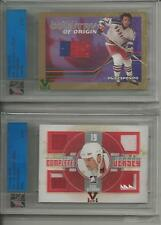 Steve Yzerman ITG Ultimate Vault 1/1 on UM10 Complete Jersey  Ruby Logo