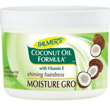 3x Palmers Coconut Oil Formula Moisture Gro Shining Hairdress 250 G Total of 7