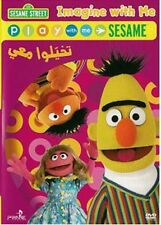 Arabic cartoon dvd for kids sesamse st imagine with me proper arabic تخيلوا معي