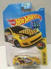 2017 Hot Wheels Art Cars Volkswagen Golk MK7 Yellow 16 RLC Factory Set HTF