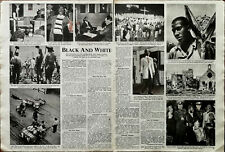 More details for black and white president truman american civil rights vintage articles 1948