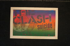 The Clash Tour Poster 1980 Suicide Support