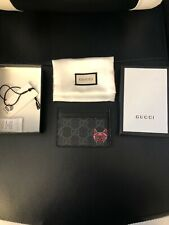 Gucci Monogram Wolf Card Holder