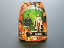 Doctor Who 'Time Crash' Action Figure Set. Character UK 100. Open. Excellent.