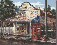 Nostalgic Australian Stores 2  50 x 40cm GORDON HANLEY DESIGNS! SALE PRICE!