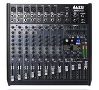 12 Kanal Live Mischpult Audio Mischpult Mixer Alto Live 1202 3-Band EQ