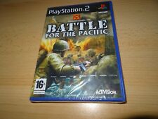PS2 BATTLE FOR THE PACIFIC UK Pal, New & SONY FACTORY SEALED