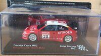 "DIE CAST "" CITROEN XSARA WRC RALLYE SANREMO - 2001 "" SCALA 1/43"
