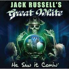 JACK RUSSELL'S GREAT WHITE - HE SAW IT COMIN' NEW CD