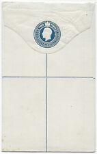 Sierra Leone KGV 2d blue registered postal stationery env
