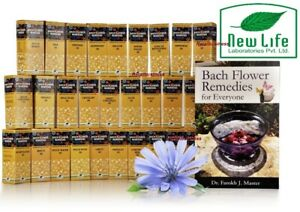 New Life Bach Flower Remedies Kit (30ml) 1Set Complete set of 39 bach flower US