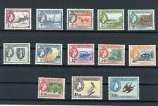 VIRGIN ISLANDS STAMPS SG 149-161 MNH CV £110 LOT 217