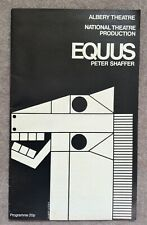 More details for colin blakely signed equus national theatre programme 1976