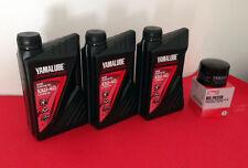 KIT TAGLIANDO YAMALUBE 4S 10W40 + FILTRO OLIO Yamaha TMAX T-MAX 500 530  01-16