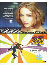 MADONNA Beautiful Stranger Trade Ad POSTER for 1999 Austin Powers Soundtrack CD