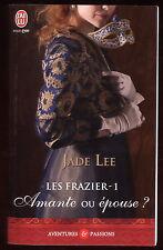 Livre J'ai Lu..Aventure & Passion...AMANTE OU EPOUSE ?....Roman