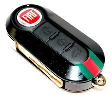 Fiat 500 Gucci Remote Key Cover Black Metallic New Genuine 71771071