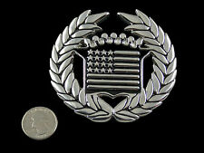 CADILLAC AMERICAN FLAG CHROME BELT BUCKLE FAMOUS STARS & STRAPS  FSAS BLINK 182