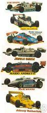 Lot of 7 Indy Car Stickers Rare Johncock Sneva Andretti