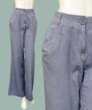 NEW Miss Selfridge Linen Trousers/Pants 10-16 NAVY/GREY/CREAM Summer Loose/Long