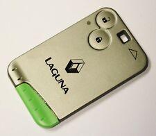 Renault Laguna Espace Alarma Control Remoto 2 botón Llavero tarjeta