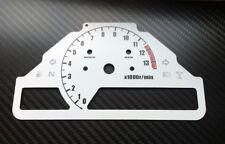 Honda CBR1000RR SC57 04-05 weiße Tachoscheiben Tacho Gauge Dial Nachtdesign NEW