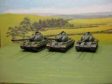 Roco minitanks: British 'Conqueror' Heavy Tank Troop. 1:87.