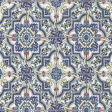 Living Room Patterned Mediterranean Wallpaper Rolls & Sheets