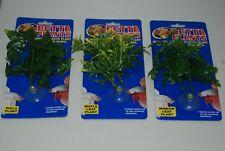 Aquarium Betta Petit Plastique Plantes Philo Érable Fenêtre Variété Paquet 1