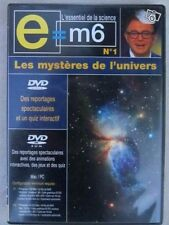 14990 // DVD COLLECTION E=M6 LES MYSTERES DE L'UNIVERS DVD EN TBE