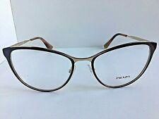 New PRADA VPR 5T5 DHO-1O1 54mm Plum Cats Eye Women Eyeglasses Frame #467