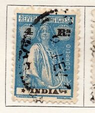 Portuguese India 1923 Early Issue Fine Used 4r. 153892