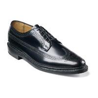 Kenmoor Florsheim Mens Shoes Wingtip Leather Black Lace Up Dressy 17109-01