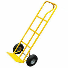 BARGAINS-GALORE Heavy Duty Sack Truck Industrial Hand Trolley With Pneumatic Tyre Wheel