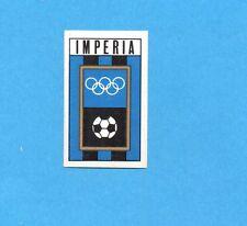 FIGURINA PANINI 1970/71 - IMPERIA - SCUDETTO/BADGE -recuperato PERFETTO !