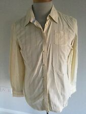 Tommy Hilfiger Ladies Striped Long Sleeve Shirt Size L/G. Good Condition.