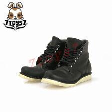 ACI Toys 1/6 ACI751-C Fashion Boots Round Toe_ Black boots _Now AT070C
