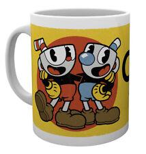 Cuphead Cuphead and Mugman 10oz 300ml Ceramic Coffee Breakfast Mug