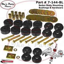 Prothane 7-144-BL Body Mount Bushings Kit 59-64 Chevrolet Impala/Belair Hardtop
